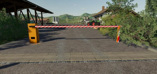 Automatic barrier placeable v 1.0