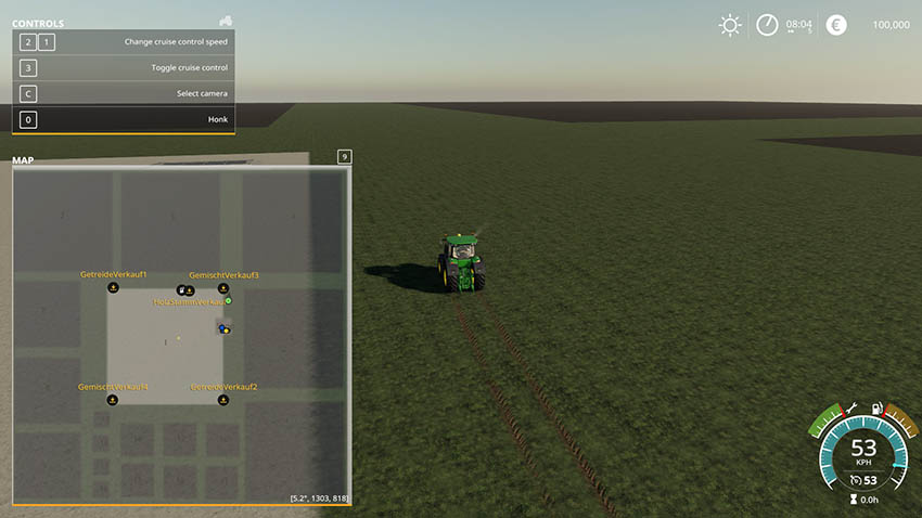 Big Farmers Map v 1.0
