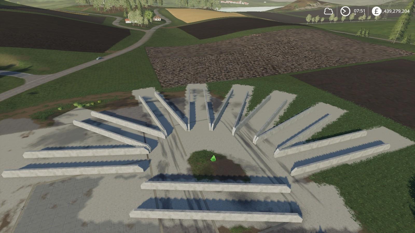 Bunker Silos 360 v 1 0 | FS19 mods, Farming simulator 19 mods