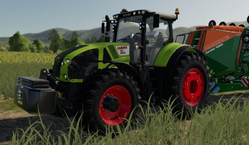 CLAAS Axion 900 by Smety
