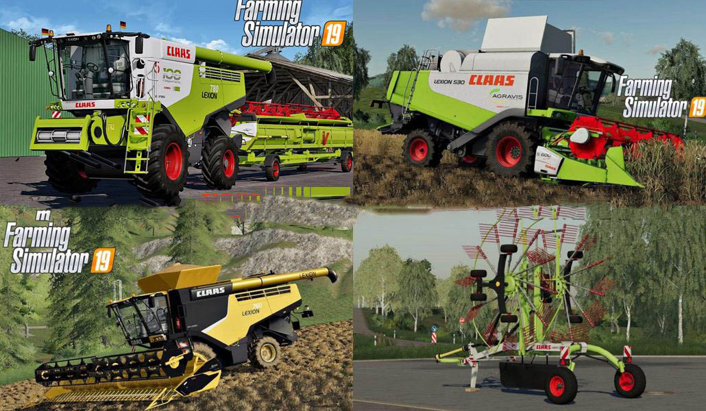 CLAAS PACK BY jbk v 1.0