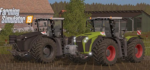 CLAAS XERION 4000–5000 v 1.0
