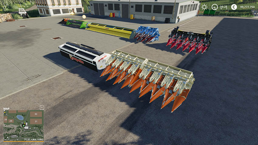 Capello Header Pack v 1 0 | FS19 mods, Farming simulator 19 mods