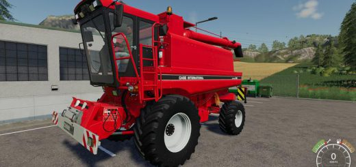 Case IH 1660 (1680) with cutter v 1.0