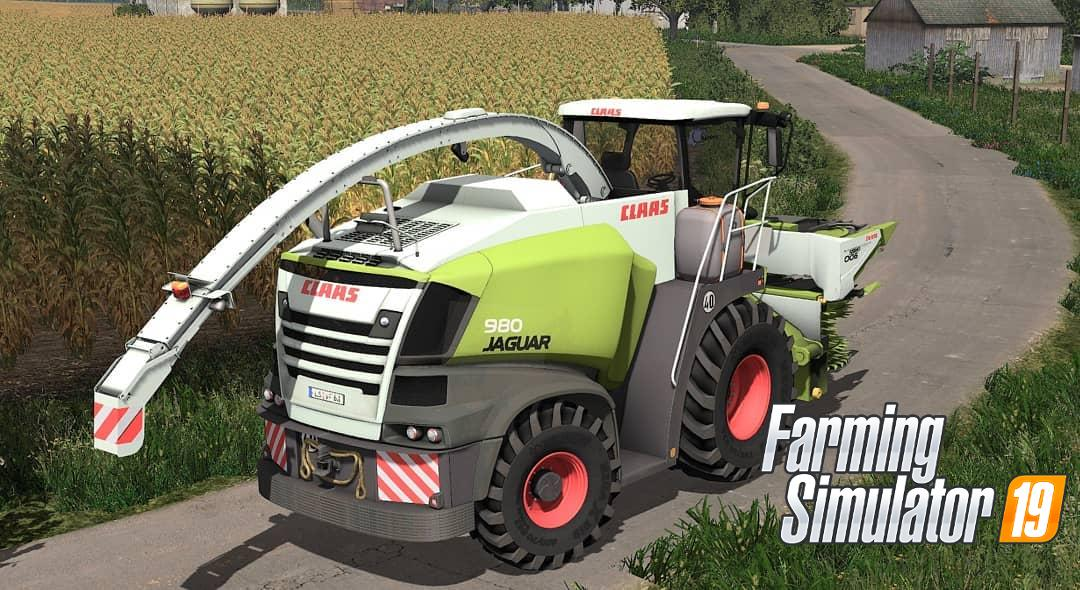 Claas Jaguar 900 Series v 1.0