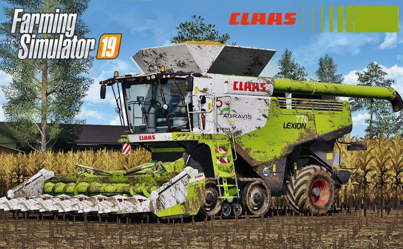 Claas Lexion 700 Series Full Pack v 3.0