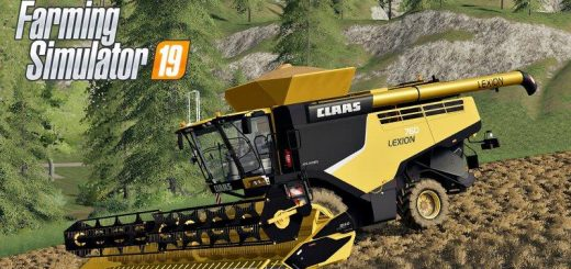 Claas Lexion 760 USA v 1.0