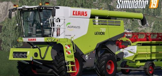 Claas Lexion 780 Full Pack v 1.0