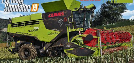 Claas Lexion 795 Monster Limited Edition v 1.0
