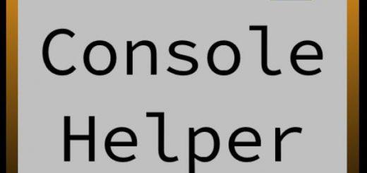 Console Helper v 1.0