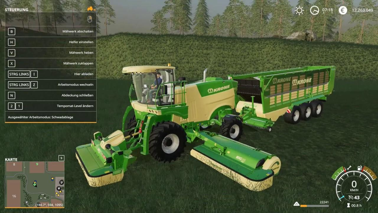 Krone Pack OY MP v 19 8 1 | FS19 mods, Farming simulator 19 mods