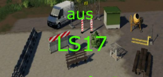 Decoration from LS17 Part 3 v 1.0