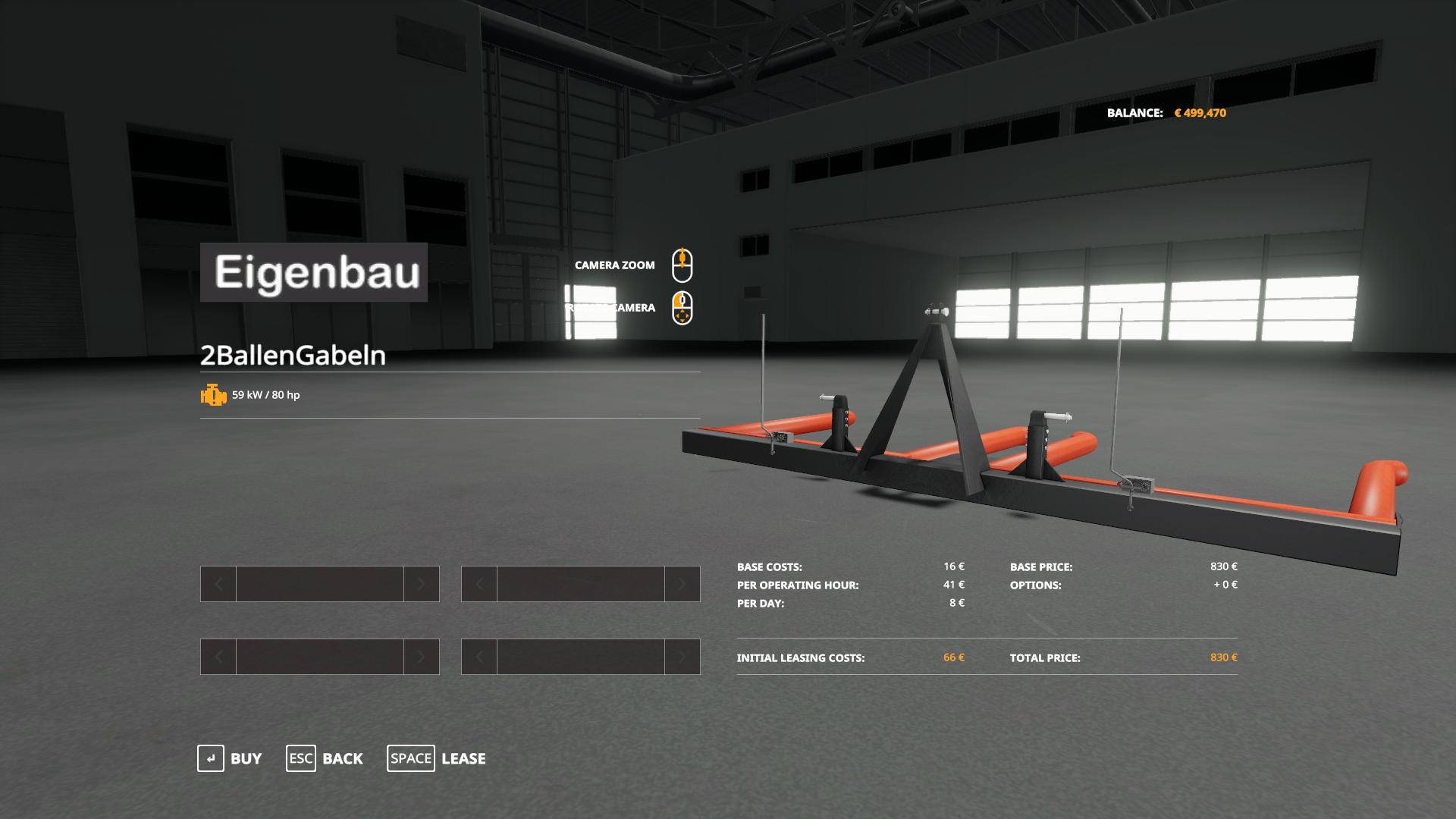 Eigenbau Ballengabeln Pack v 1.0