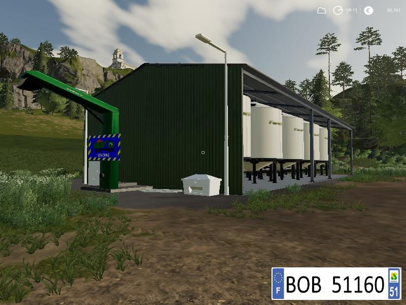 Farm Silo v 1 5 | FS19 mods, Farming simulator 19 mods