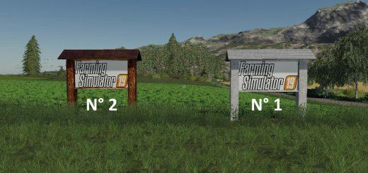 Farming Simulator FS19 Panels v 1.0