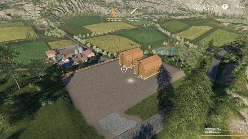 Feldbrunn reconstruction with stables v 1.0
