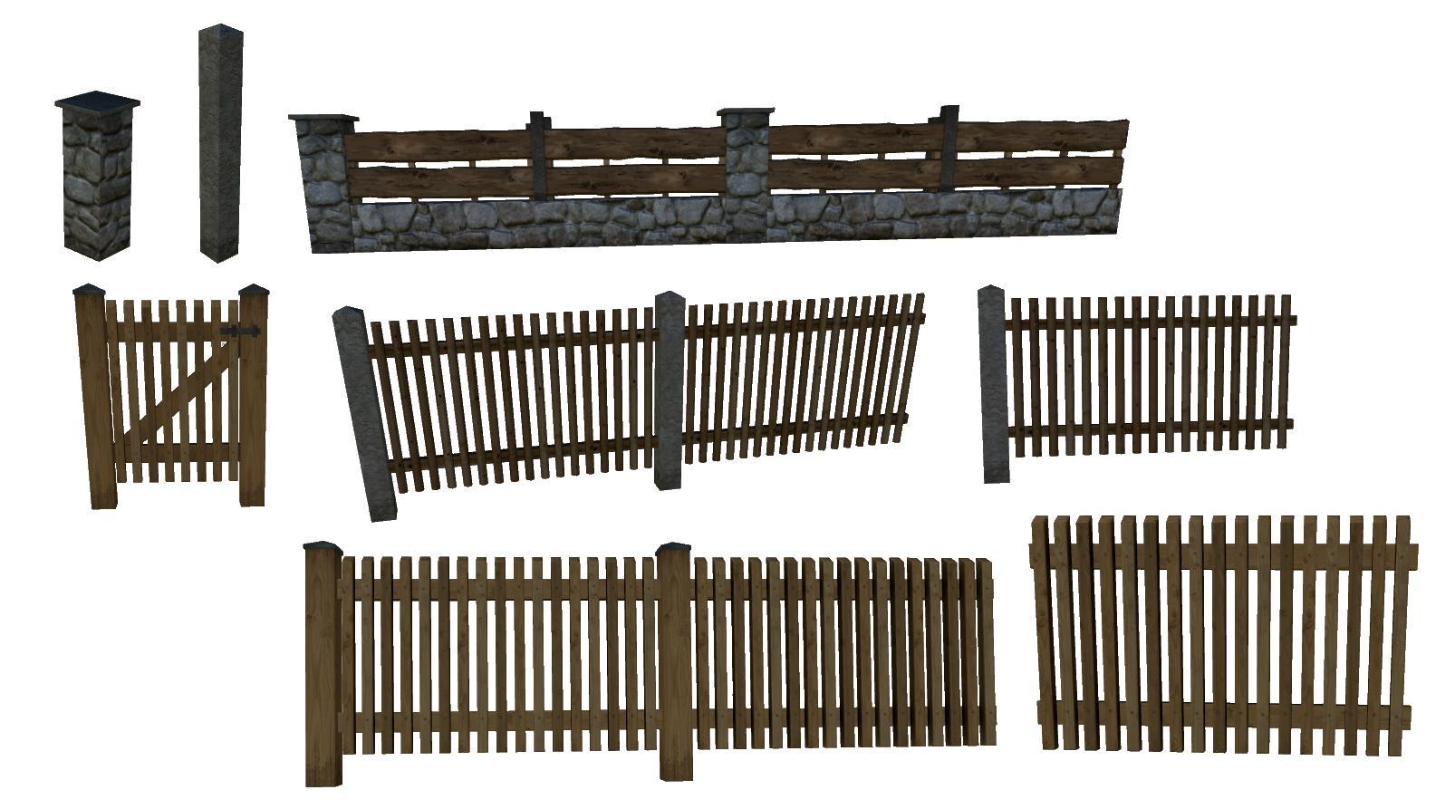 Fence Pack v 1.0