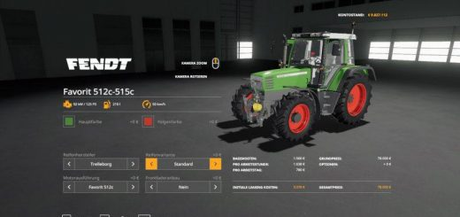 Fendt Favorit 511c - 515c v 1.0