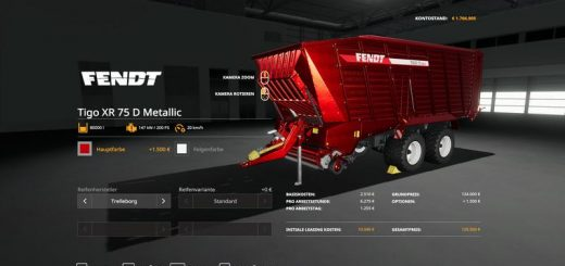 Fendt TigoXR75 MetallicEdit 80000l v 1.0