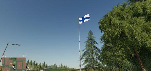Flag of Finland v 1.0