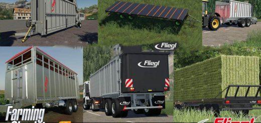 Fliegl Mega Trailers Pack v 1.0