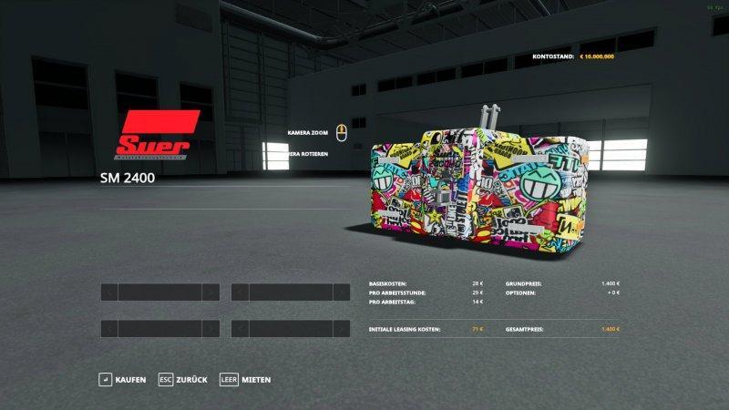 Greve Bomb + Sticker Bomb Gewicht v 1.0