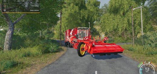 Grimme Varitron 470 potato harvester by Stevie
