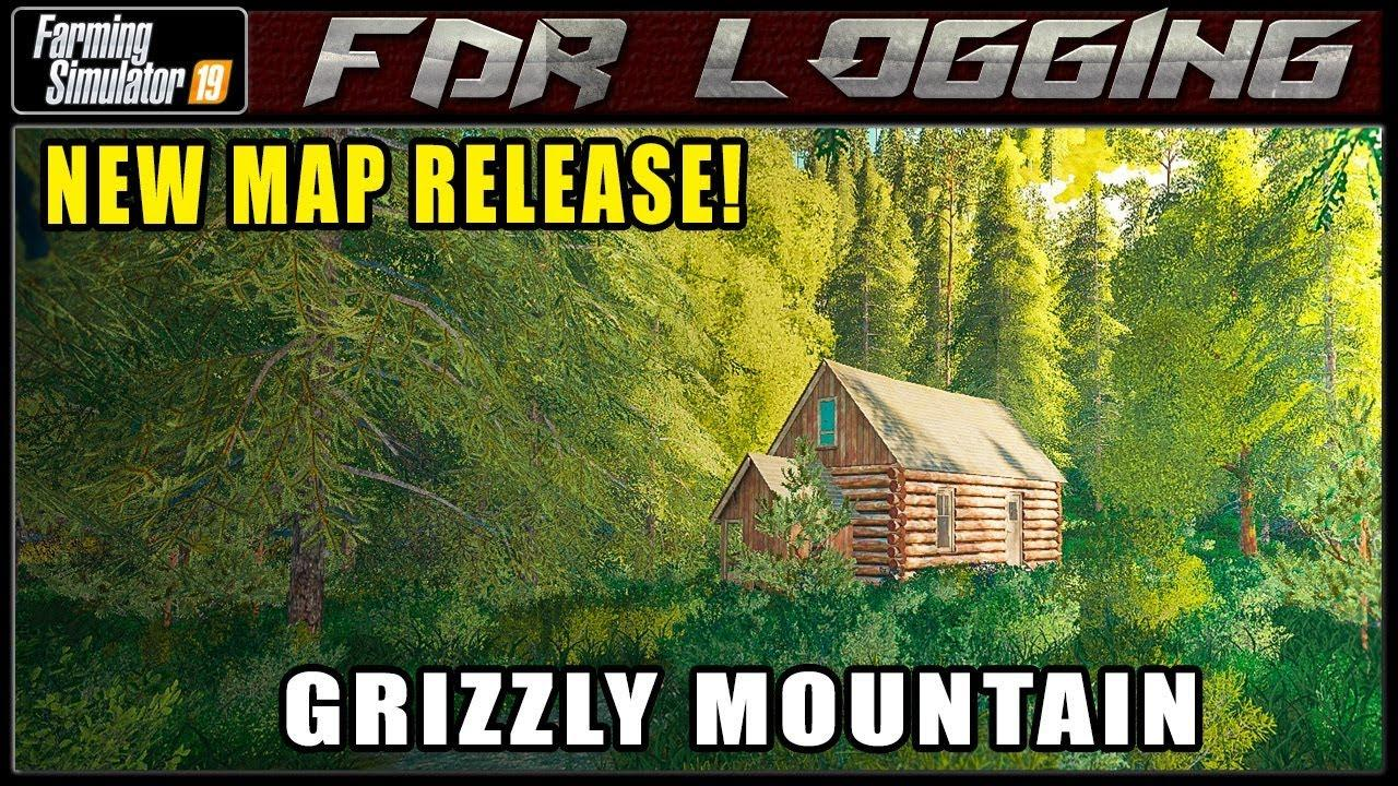 Grizzly Mountain Logging v 1 2 0 1 | FS19 mods, Farming
