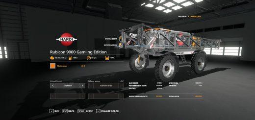 Hardi Rubicon 9000 Gamling Edition v 1.0