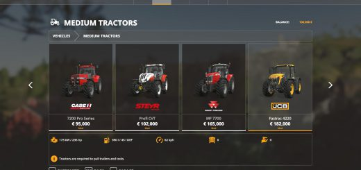 Iconik Medium Tractors v 1.0