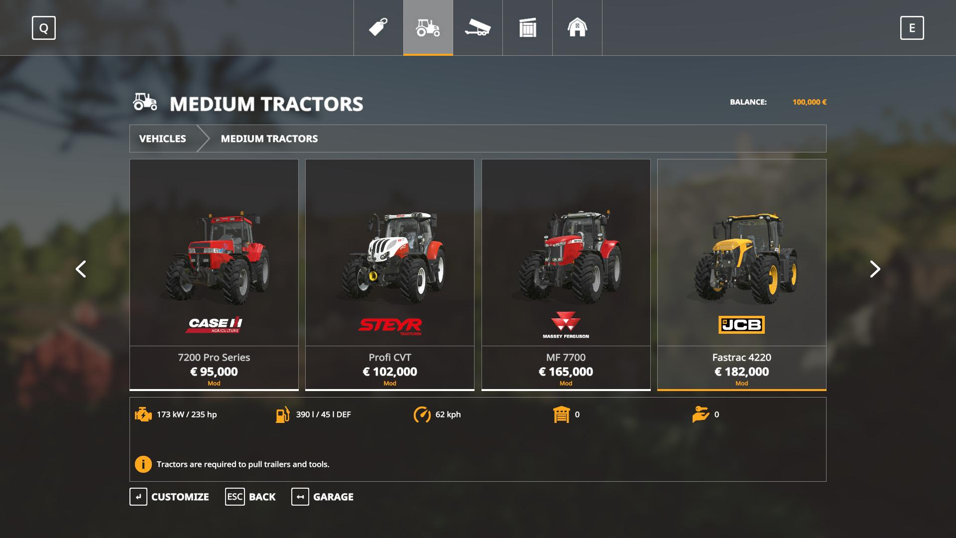 Iconik Medium Tractors v 1 0 | FS19 mods, Farming simulator