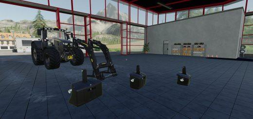 JD Gewichte und Frontlader Black Edition v 1.0.1