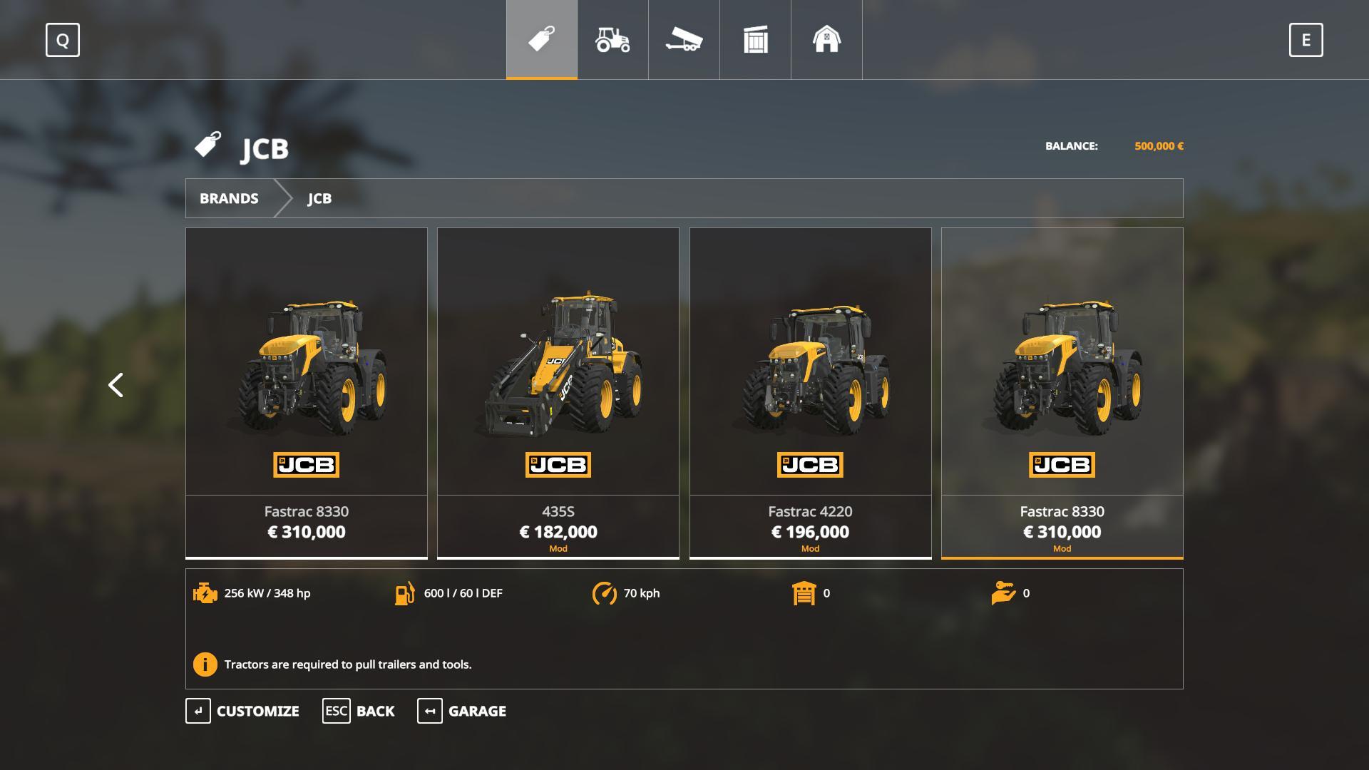 Jcb Tractors v 1.0.0.2