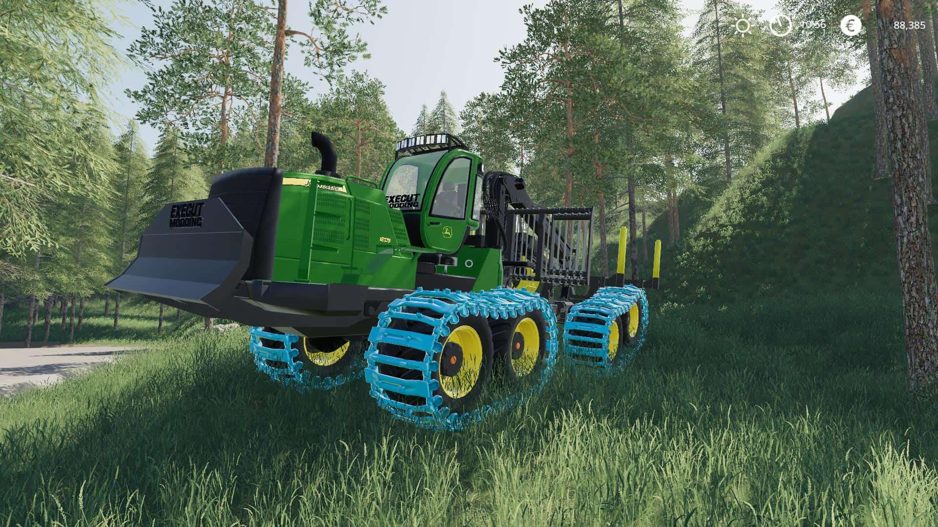 John Deere 1910G with ALS-T v 1.2