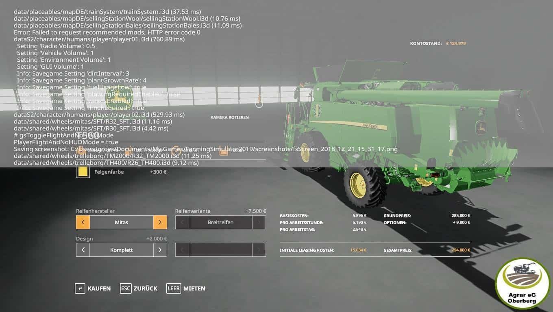 John Deere T560 v 1.0