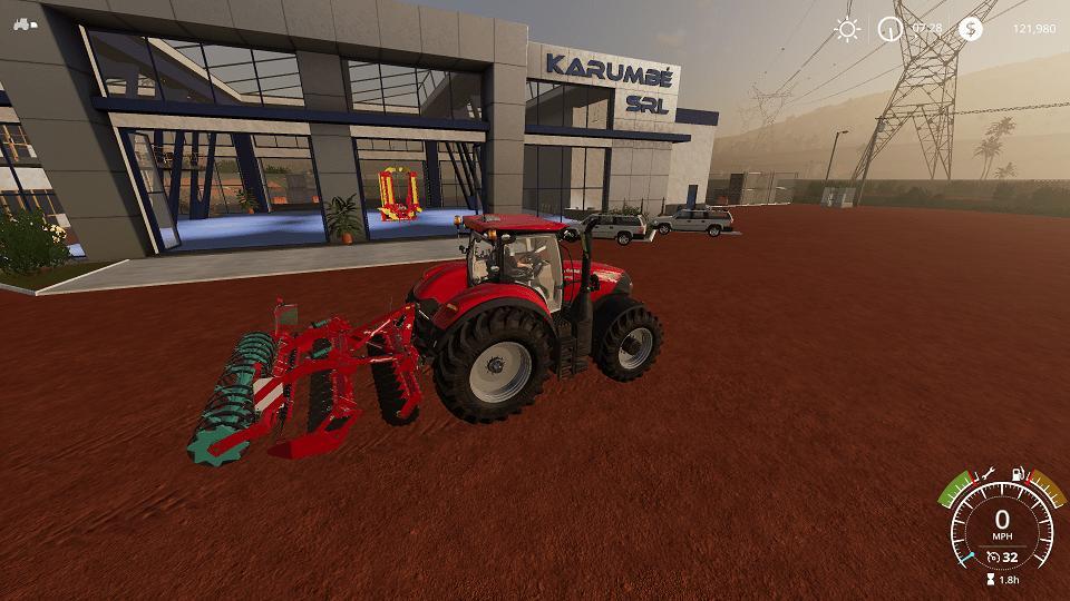 KVERNELAND Qualidisc Roller 4000 v 1.0