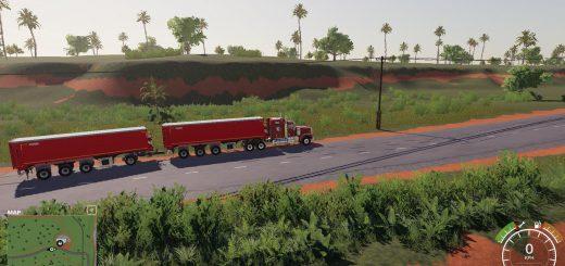 Krampe SB3060 with trailer hitch v 1.0