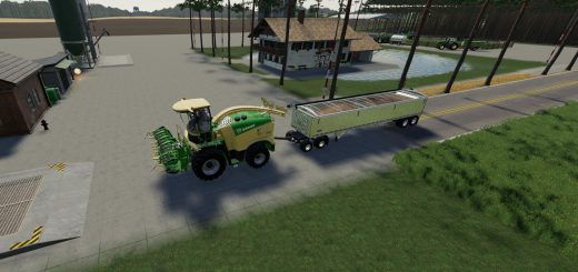 Krone Collect 900-3 Poplar v 1.0