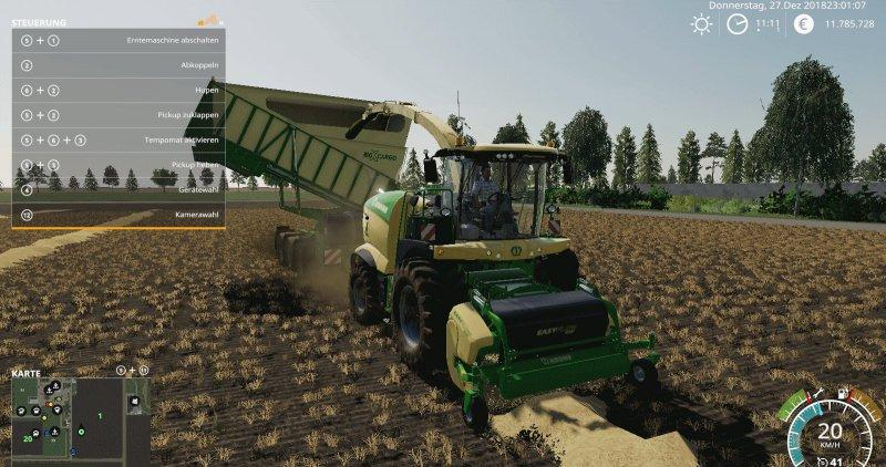 Krone Easy Flow 300S v 1 0 | FS19 mods, Farming simulator 19 mods