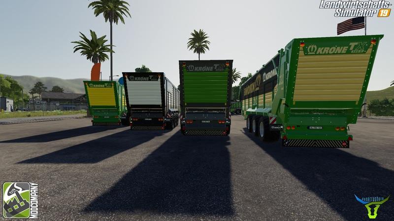 Krone Pack by Bonecrusher6 v 1.1