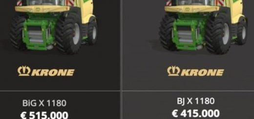 Krone X1180 with tank 100000L MP v 1.0