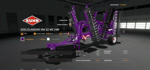 Kuhn DiscolanderXM - MultiColor MultiFruit 7500l v 1.0
