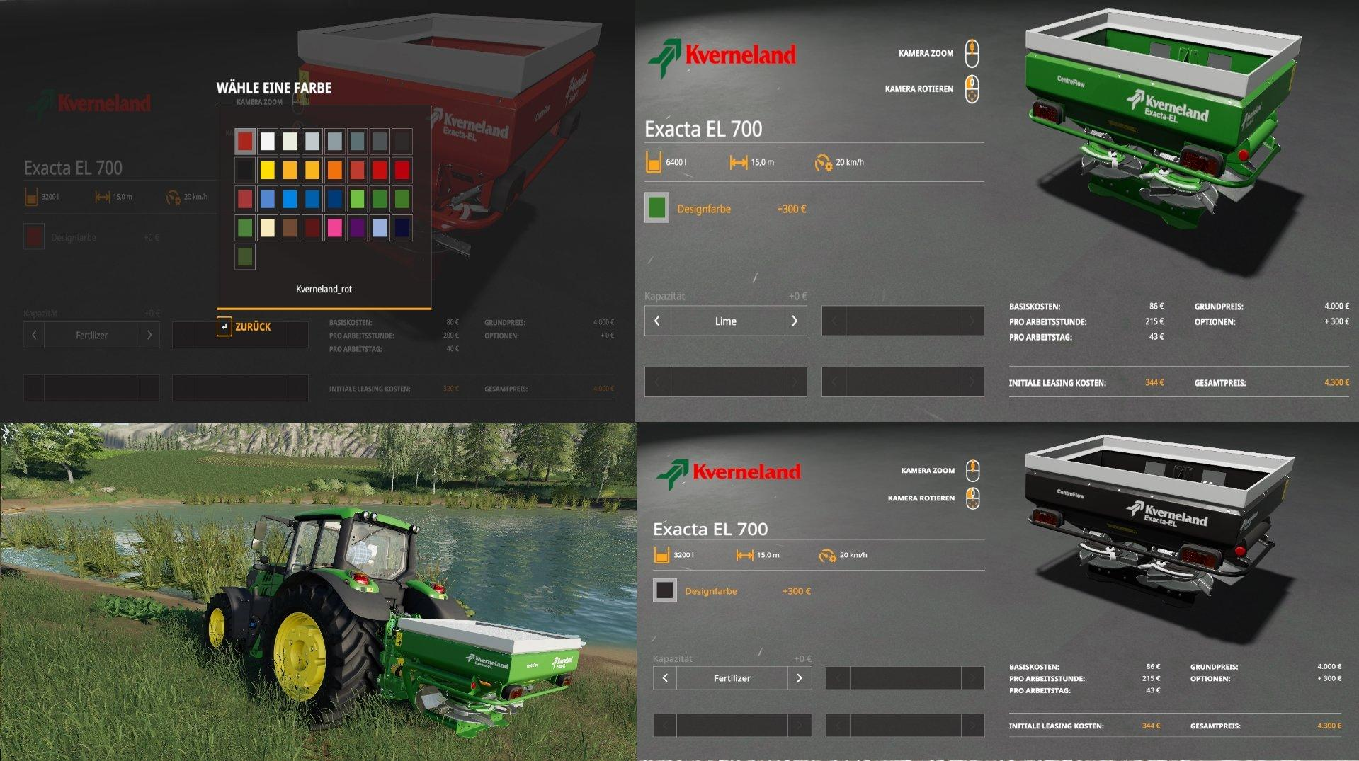 Kverneland Exacta El Multicolor v 1.0