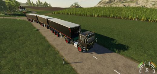 MAN Krampe trailer with trailer coupling Dolly v 1.0