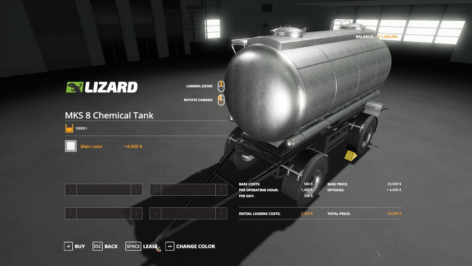 MKS8 Chemical Tank v 1.0