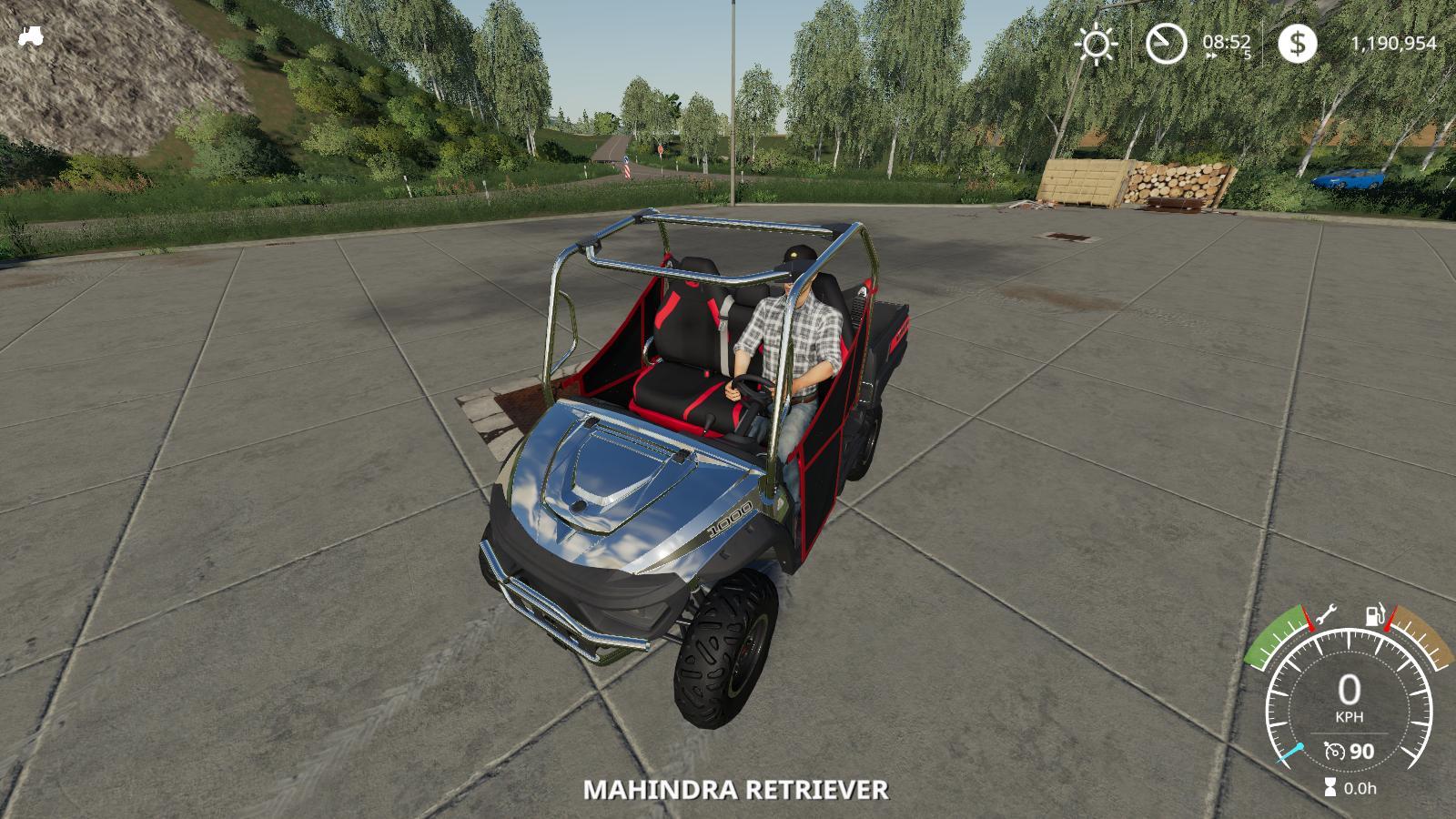Mahindra Retriever Chrome Accessories v 1.0