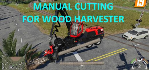 Manual Cutting for Wood Harvester v 1.0