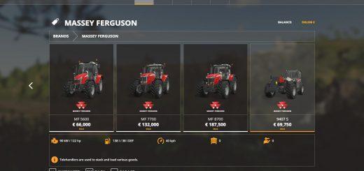 Massey Ferguson tractors v 1.0.0.2