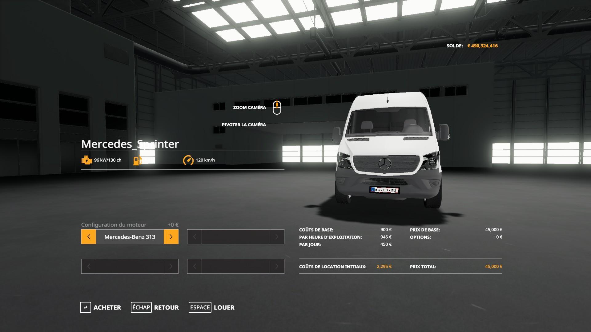 Mercedes sprinter v 1.1
