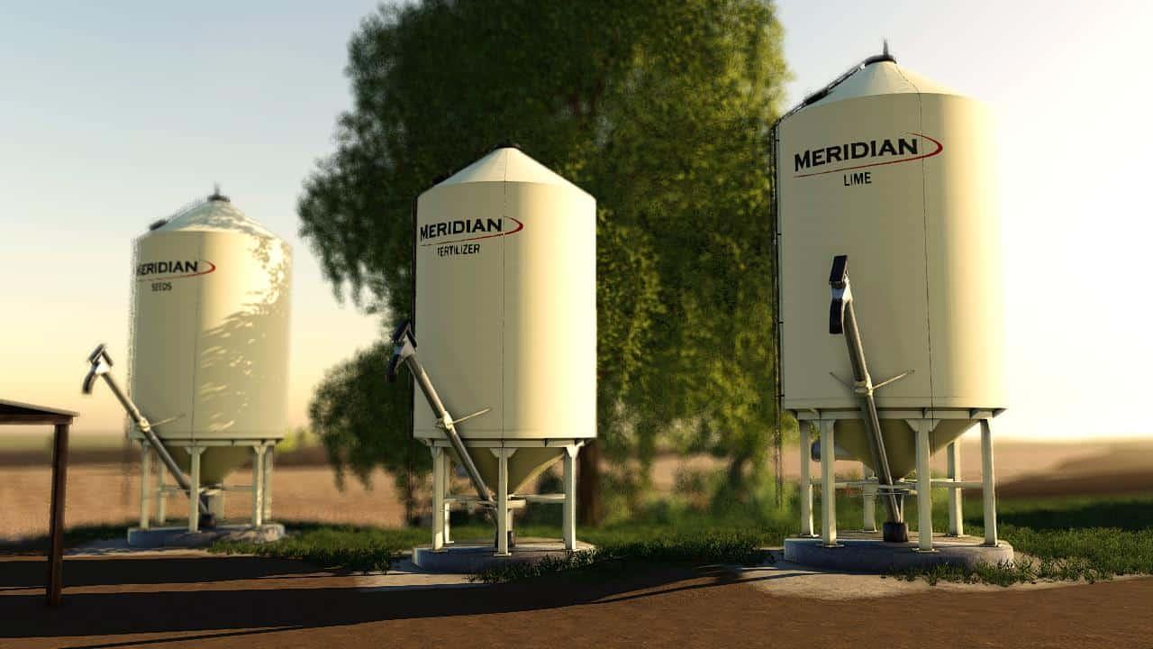 Meridian FuelTank and BulkBins v 1.0